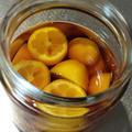 完熟金柑たまたまのフルーツブランデー