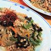 春雨と豚ひき肉の中華炒め