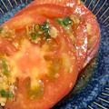 冷たくしてね!「トマトとフライドオニオンでサラダ」