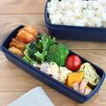 【#高校生弁当】鮭と小松菜のカレー炒め弁当♪