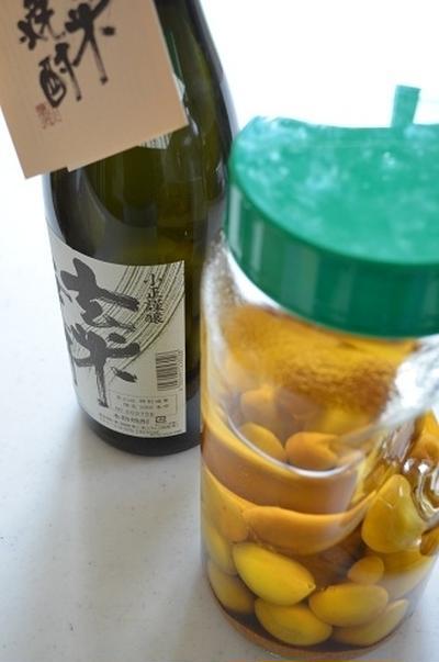 玄米焼酎の梅酒