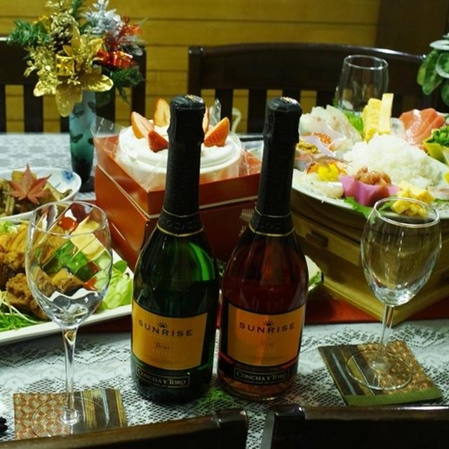 【サンライズ スパークリング2本当選!!/クリスマス料理P-3総括編/翌朝ご飯も^^】