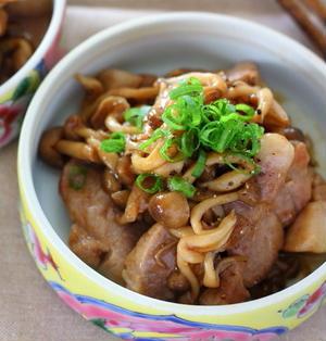 豚きのこのオイスターソース炒め(主菜にも副菜にも!)