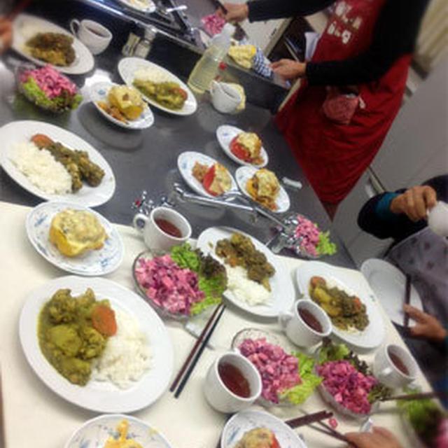 ペルー料理の会と、夜の手間なし料理