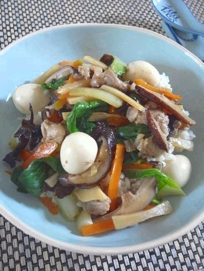 あっさり美味しいです。うちの和中華丼