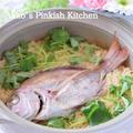 料亭の鯛めし(1分動画付き)動画27本目は日本料理で勝負です♪