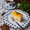 マンゴー缶で簡単!マンゴーレアチーズケーキ