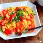 ♡簡単・時短・節約♡5分deトマたま炒め♡【#トマト#卵#副菜#朝食】