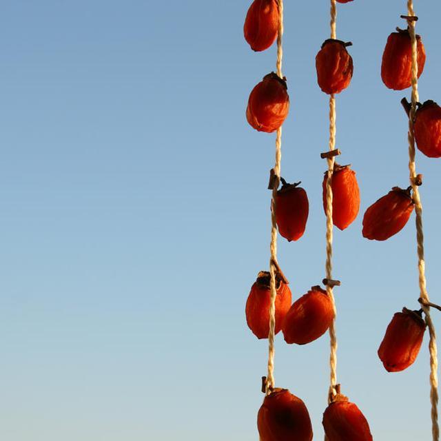 干し柿を作るの巻