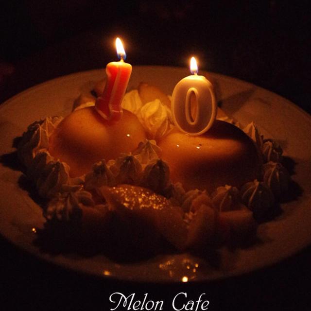 誕生日のプリンケーキ☆近況のご報告