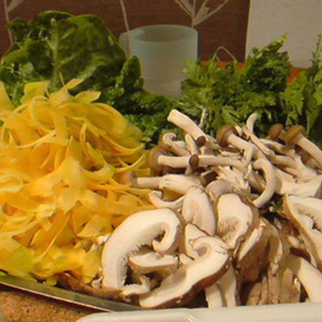 野菜たっぷりベジ鍋。