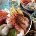 【ダンナ料理】簡単にちゃちゃっと海鮮丼