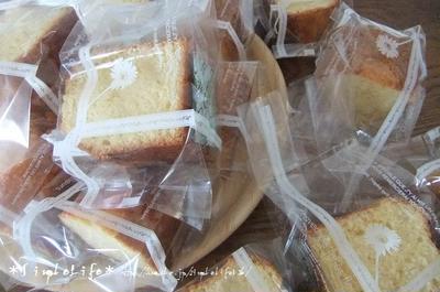 バニラビーンズたっぷり!バニラバターケーキのレシピ☆