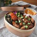 【レシピ】鶏肉のスイチリソース✳︎漬けて焼くだけ✳︎包丁なし✳︎お弁当おかず✳︎のっけ弁と朝ごはん〜