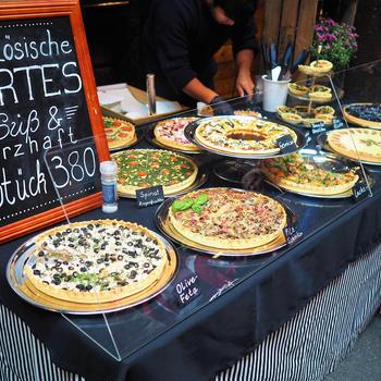 ドイツの「食のイベントMarktzeit」で色々食べてきた❤