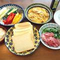 乃が美の生食パン × 豆腐のディップ。