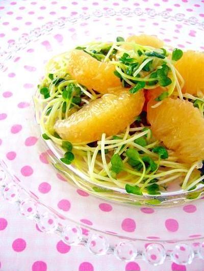 グレープフルーツサラダの朝ごはんレシピ5選
