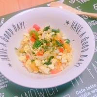 〜無理なく野菜を食べよう〜もち麦とチキンのアジアンエッグサラダ