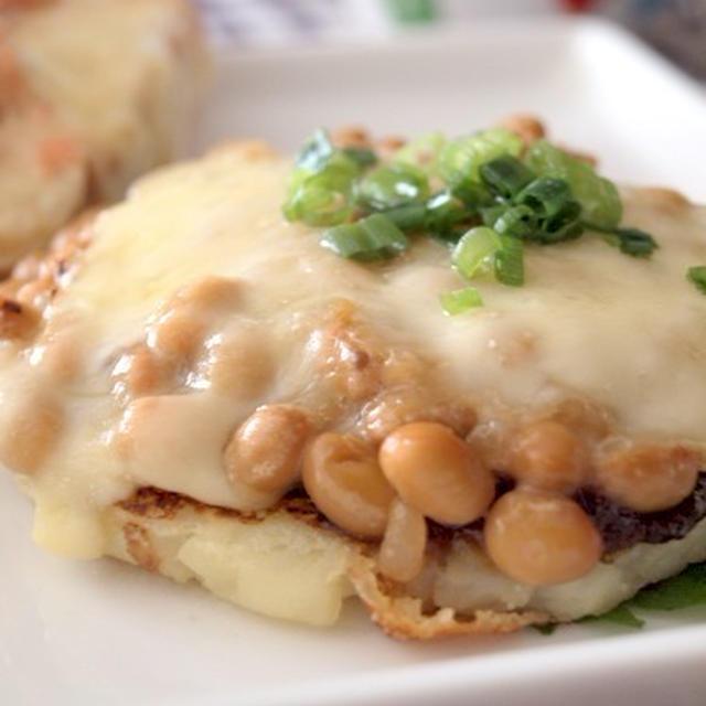 《レシピ》納豆チーズのジャガイモガレット