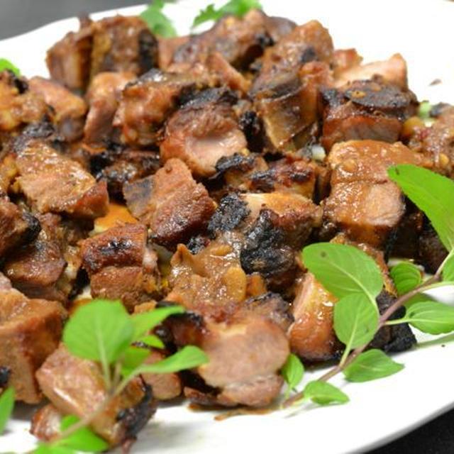 エスニック料理(47)Marinated Plum Pork Ribs
