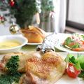 チキンレッグのパセリソースでクリスマスディナー★