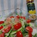 シーズニングオイル香る 春雨と生ハムのサラダ