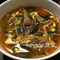 ユッケジャン・タッケジャン(鶏の辛口スープ)