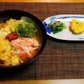 朝時間jp.今日のイチオシ朝ごはんに掲載☆鶏卵梅ぼしうどん