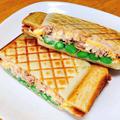 管理栄養士の簡単ホットサンド。ツナとアスパラチーズの美味しいレシピ