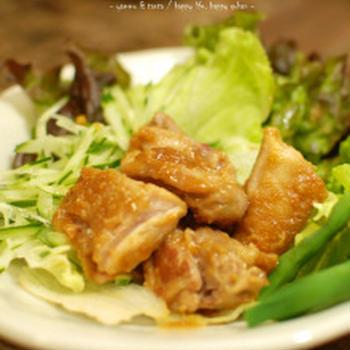 鶏のゆず味噌焼き☆イモ類や田楽にも使えるゆず味噌です♪