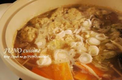 肉団子とアサリのあったか鍋【鍋を愛するレシピ:工程写真付き】