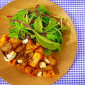 さくさく蓮根と舞茸の甘辛サラダ丼♪簡単ぱぱっとワンプレートごはんレシピ  by みぃさん