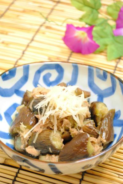 さっぱり生姜の ナスと ツナの くたくた煮 ☆