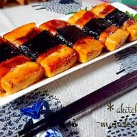 ヘルシー☆豆腐のテリマヨベーコン巻き