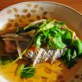 優しい味の煮汁で☆太刀魚の焼き浸し