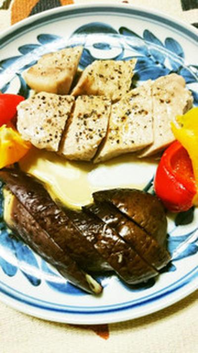 豚肉のハーブ焼き
