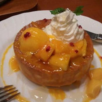 季節限定☆完熟マンゴーパンケーキ♪