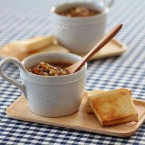 不足しがちな栄養がたっぷり!「レンズ豆」で作るスープ