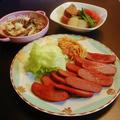 炊き合わせ&椎茸とえりんぎのガーリックマヨ炒め by みなづきさん