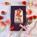 ミキサーで超簡単☆牛乳パックで出来ちゃう苺のアイスケーキ