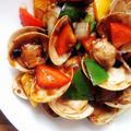 豆豉炒蜆│シジミのトウチ炒め