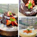 キッチンは美味しいものが溢れている~ケーキ作りの一日!!今朝の富士山