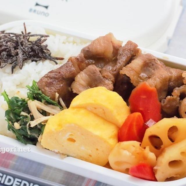焼肉弁当|副菜おかずの2レシピ付き
