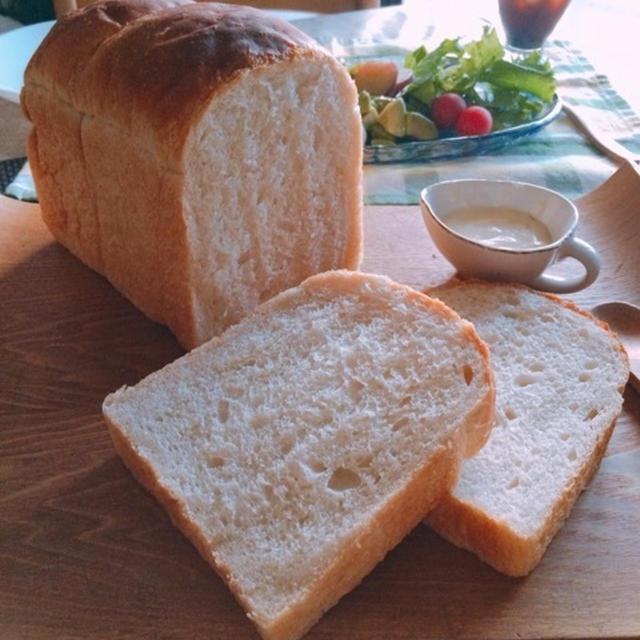 ルヴァン種のイギリス食パン(中種法)