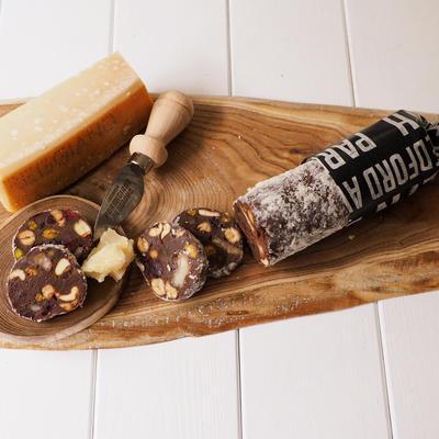 ごろごろパルミジャーノのチョコサラミ