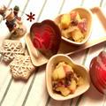 金時とりんごの簡単デザート