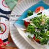 菜の花と新玉ネギとしらすの簡単サラダ*わさびドレッシング
