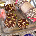 バレンタインに15分で簡単!濃厚チョコレートサラミ by ぱおさん
