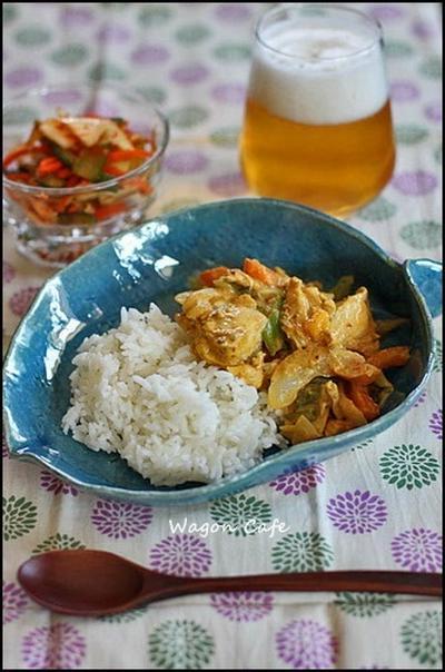 簡単コク旨☆タンドリーチキン丼**Tandoori chicken with rice