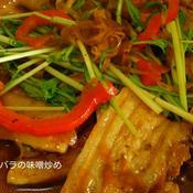 豚の味噌炒め